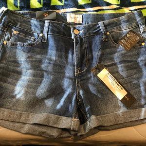 Celebrity Pink Jean Shorts